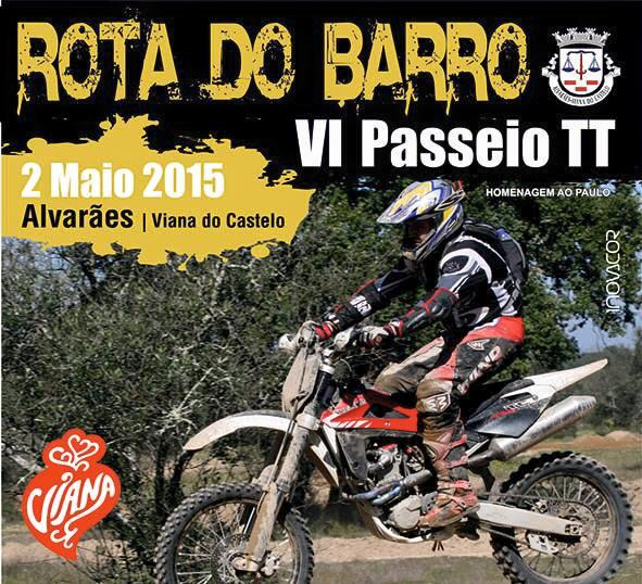 Rota do Barro VI Passeio TT