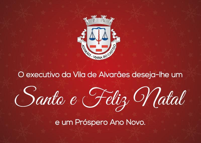 Desejamos um Santo e Feliz Natal e uma época festiva com paz, tranquilidade e alegrias