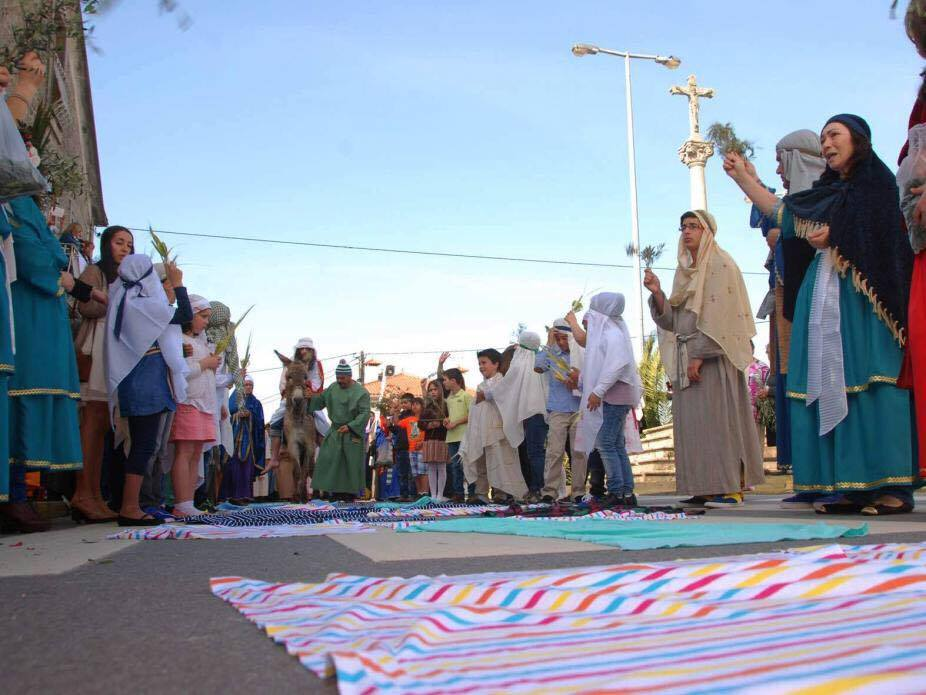 Recriações de cenas do Evangelho contam com a participação de mais de 150 pessoas