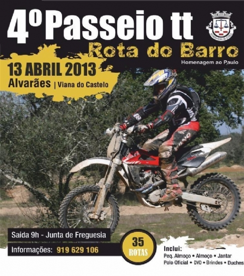 4.º Passeio TT Rota do Barro