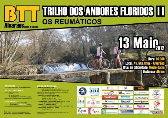 II TRILHO DOS ANDORES FLORIDOS